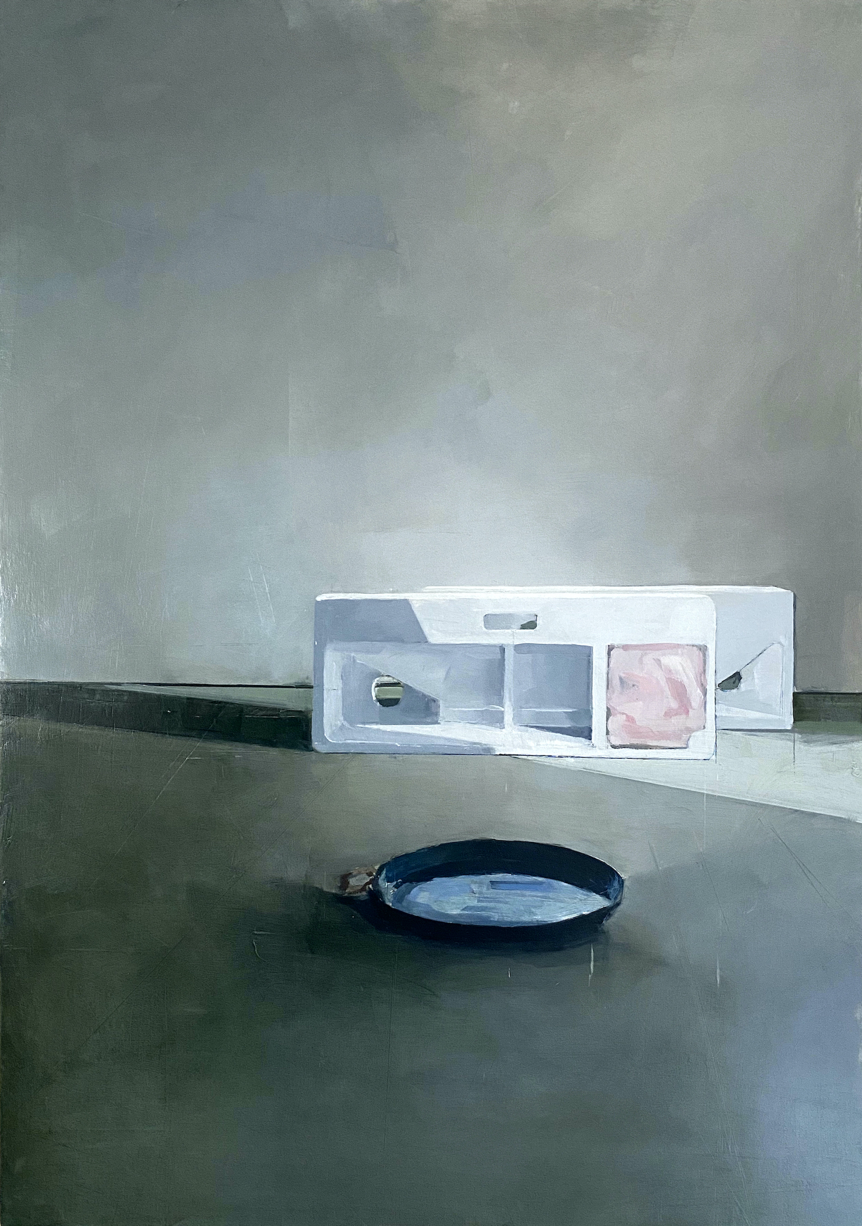 Jenny Brillhart, Serving Tray and Sink Form, 2021