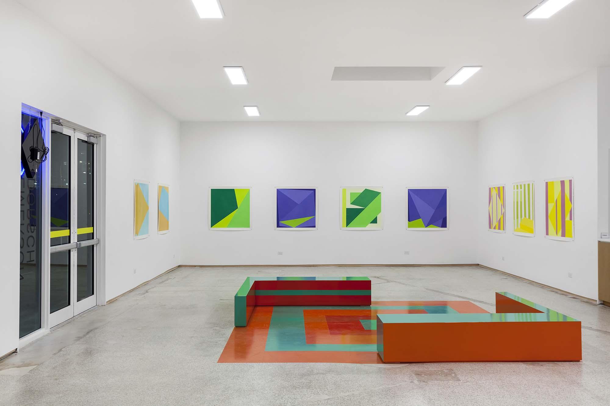 Karen Rifas, Per Forms (installation view), 2017