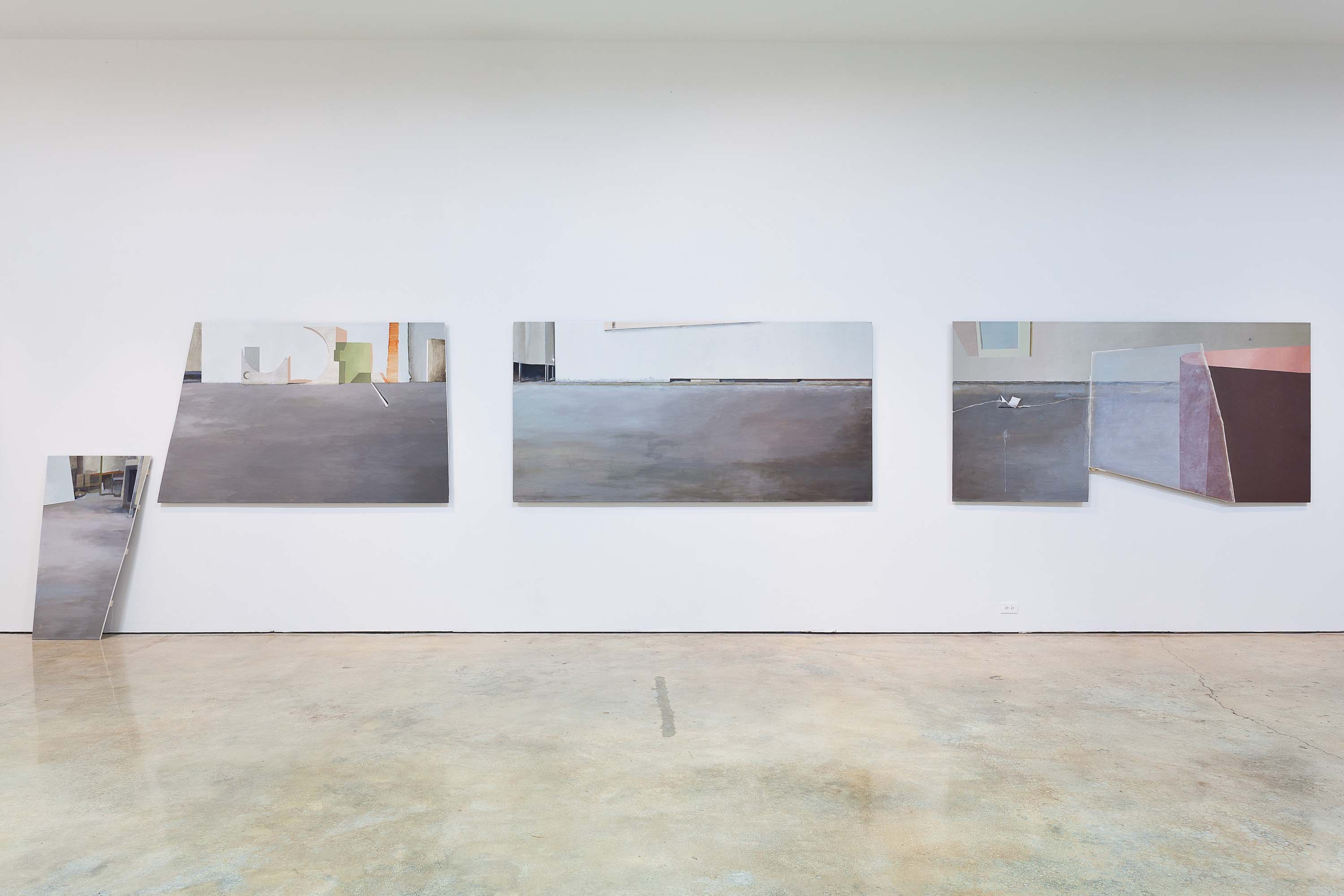Jenny Brillhart, Noonday Installation view