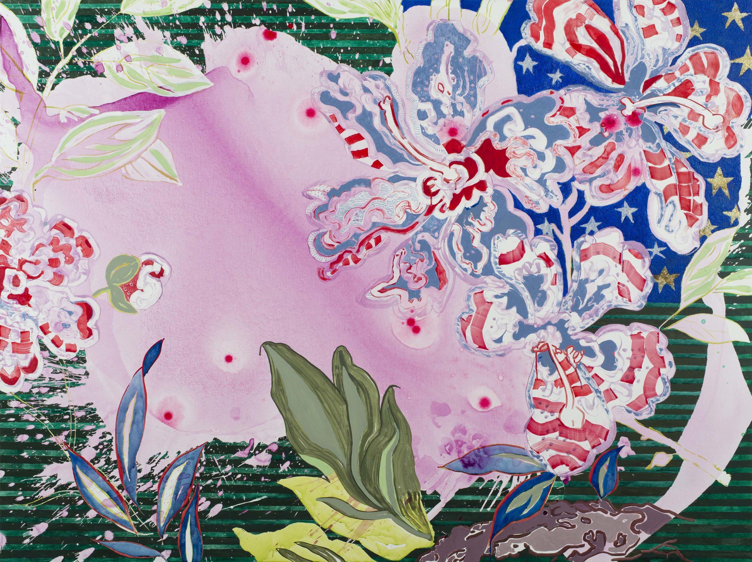 Elisabeth Condon, Love, American Style (detail), 2016