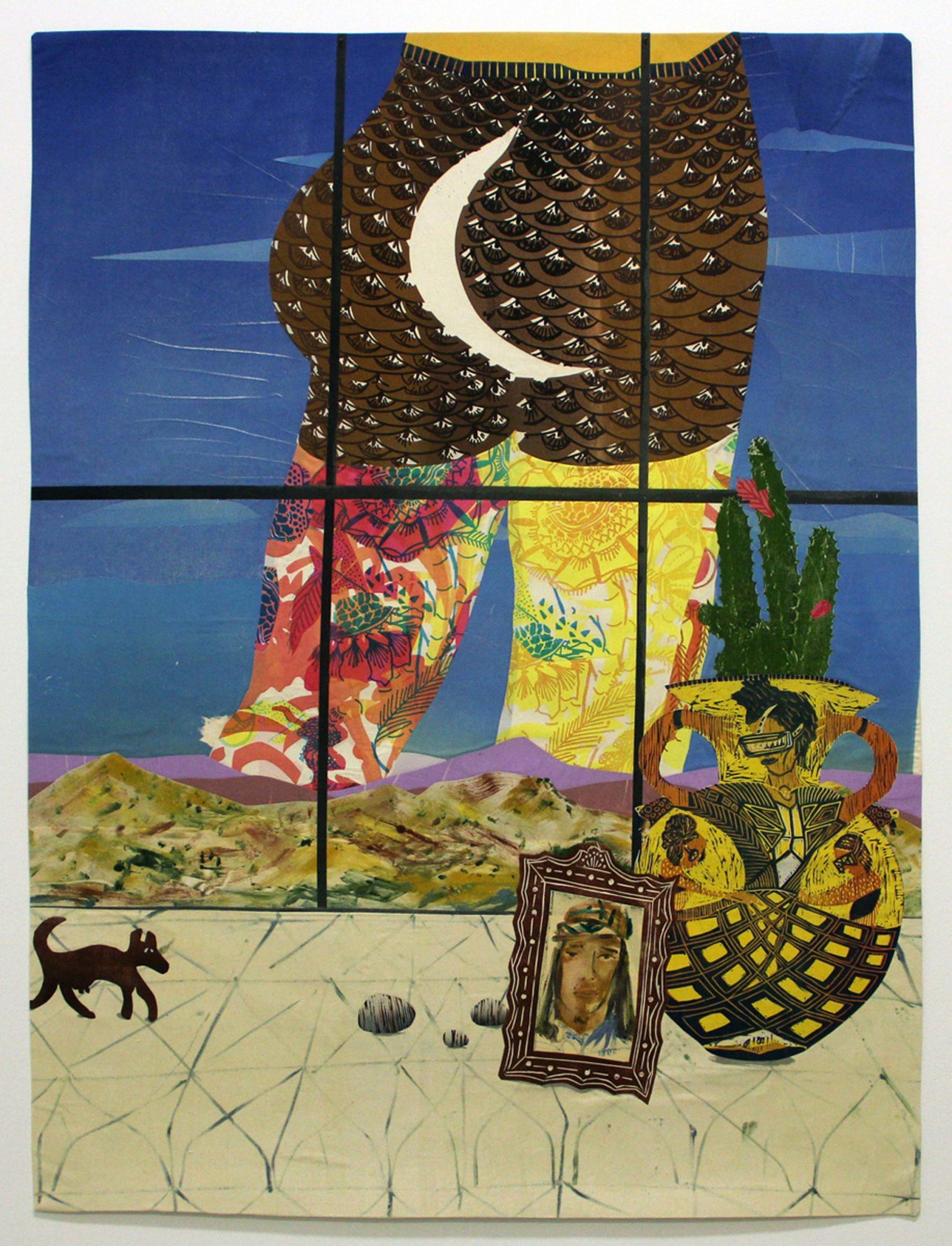 Paula Wilson, Mooning, 2015
