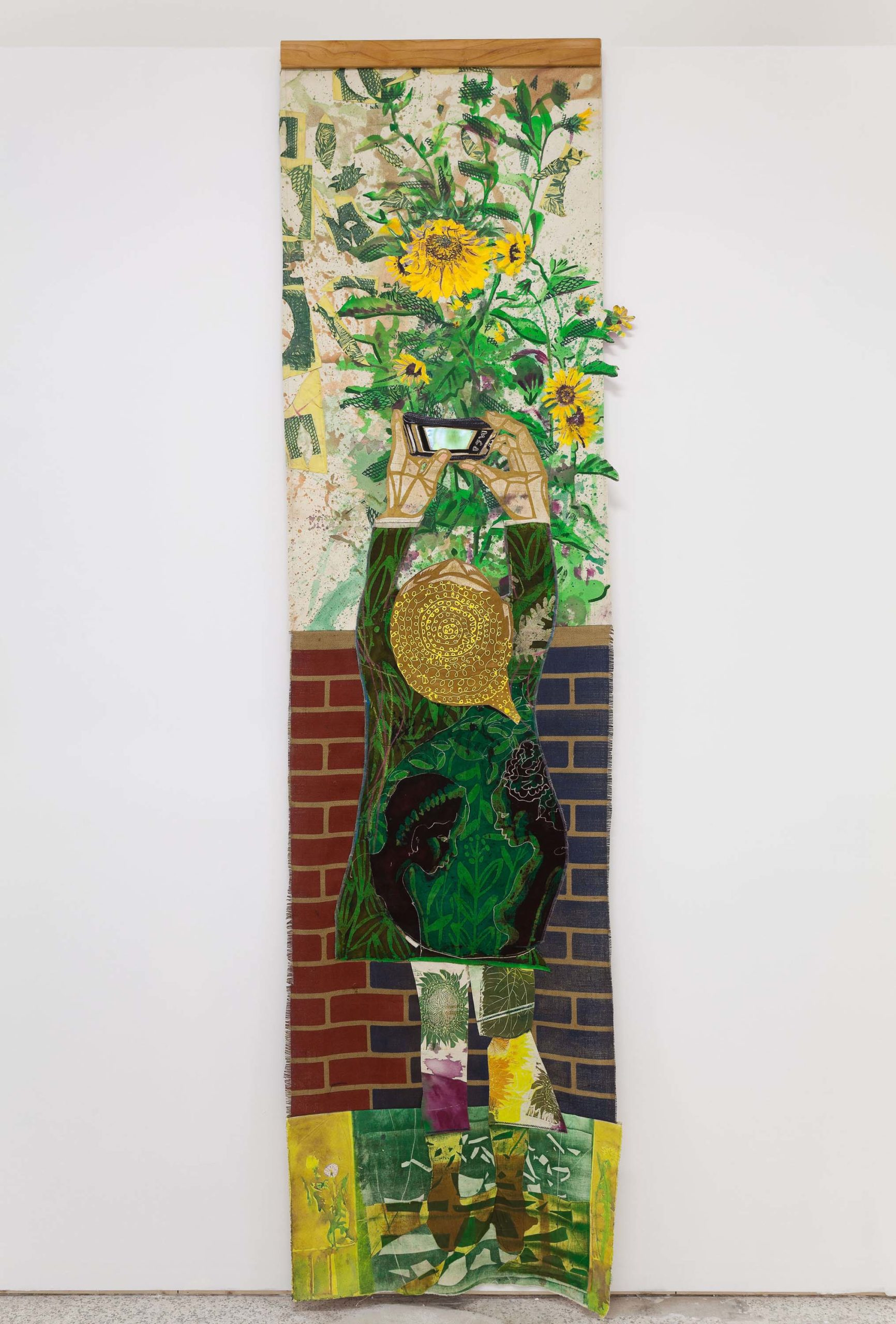 Paula Wilson, Sunflower, 2017