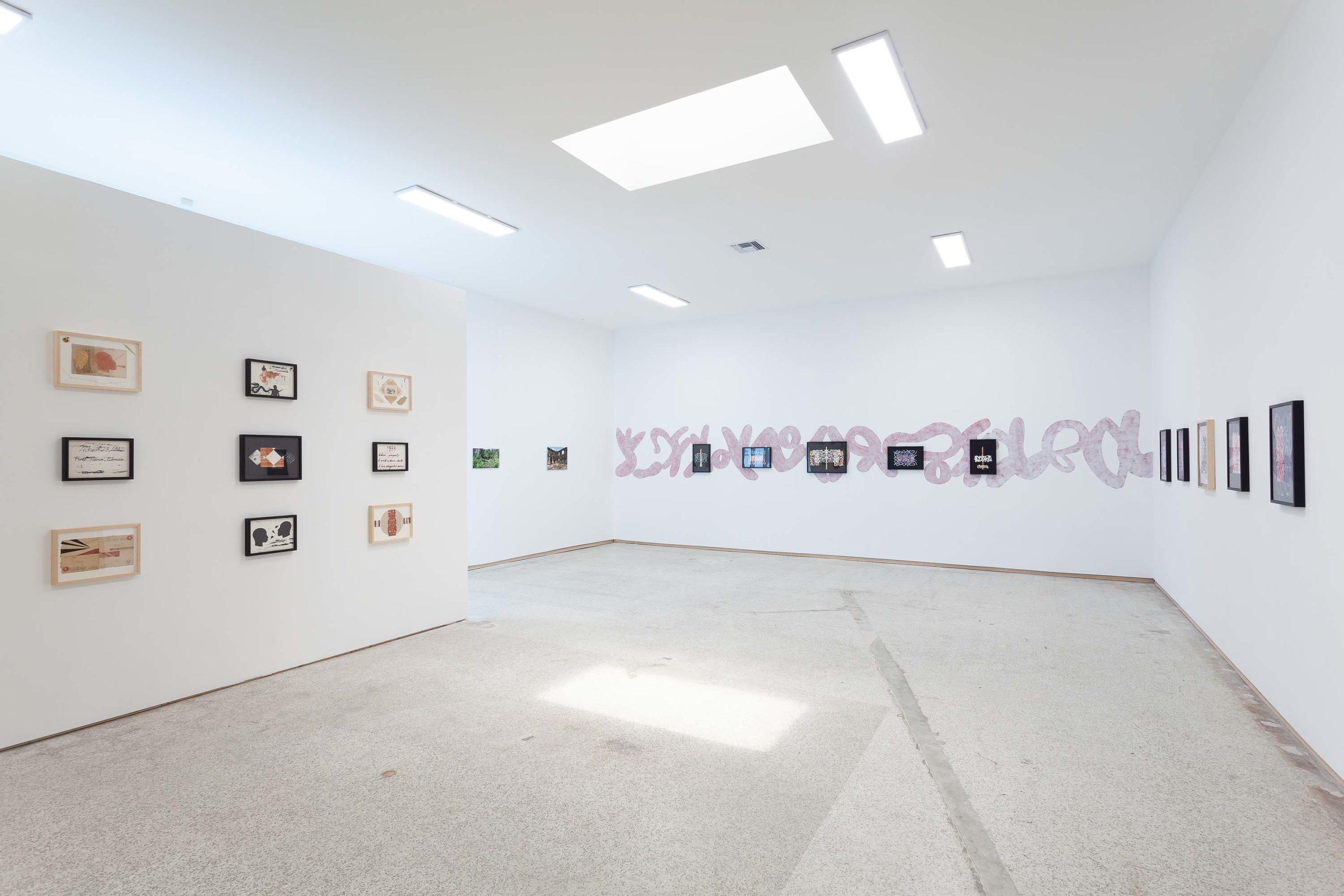 Onajide Shabaka, Alosúgbe: a journey across time (installation view)