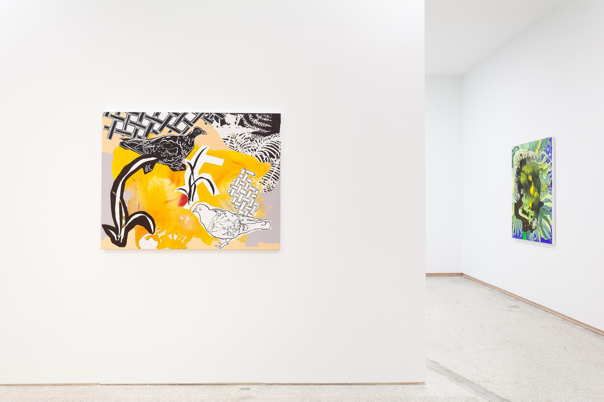Elisabeth Condon, Effulgence (installation view), 2019