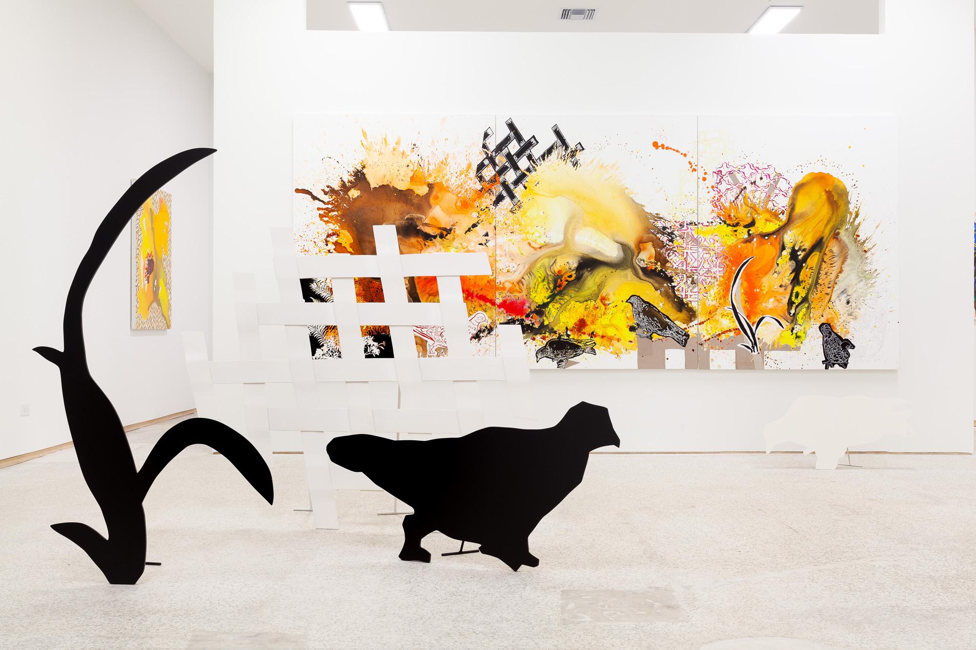 Elisabeth Condon, 2019 Installation view Effulgence at Emerson Dorsch