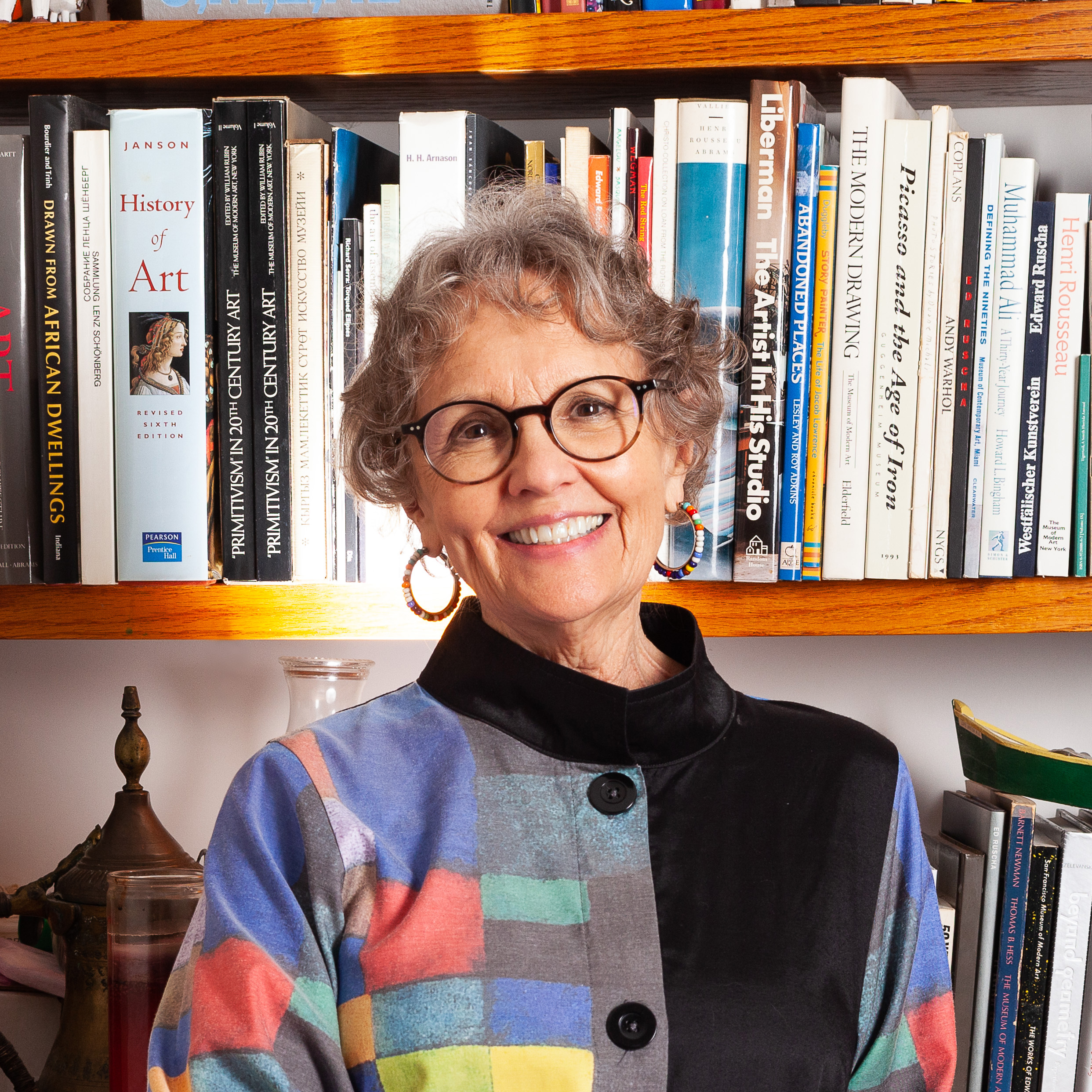 Portrait of Barbara Young, librarian and curator