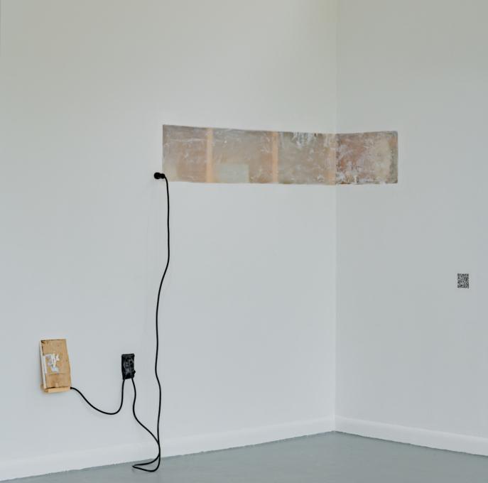 Yanira Collado in collaboration with Lucian Ferster, Diverse Networks (installation view), 2021, Oolite Arts, Miami Beach, FL (photo credit: Pedro Wazzan)