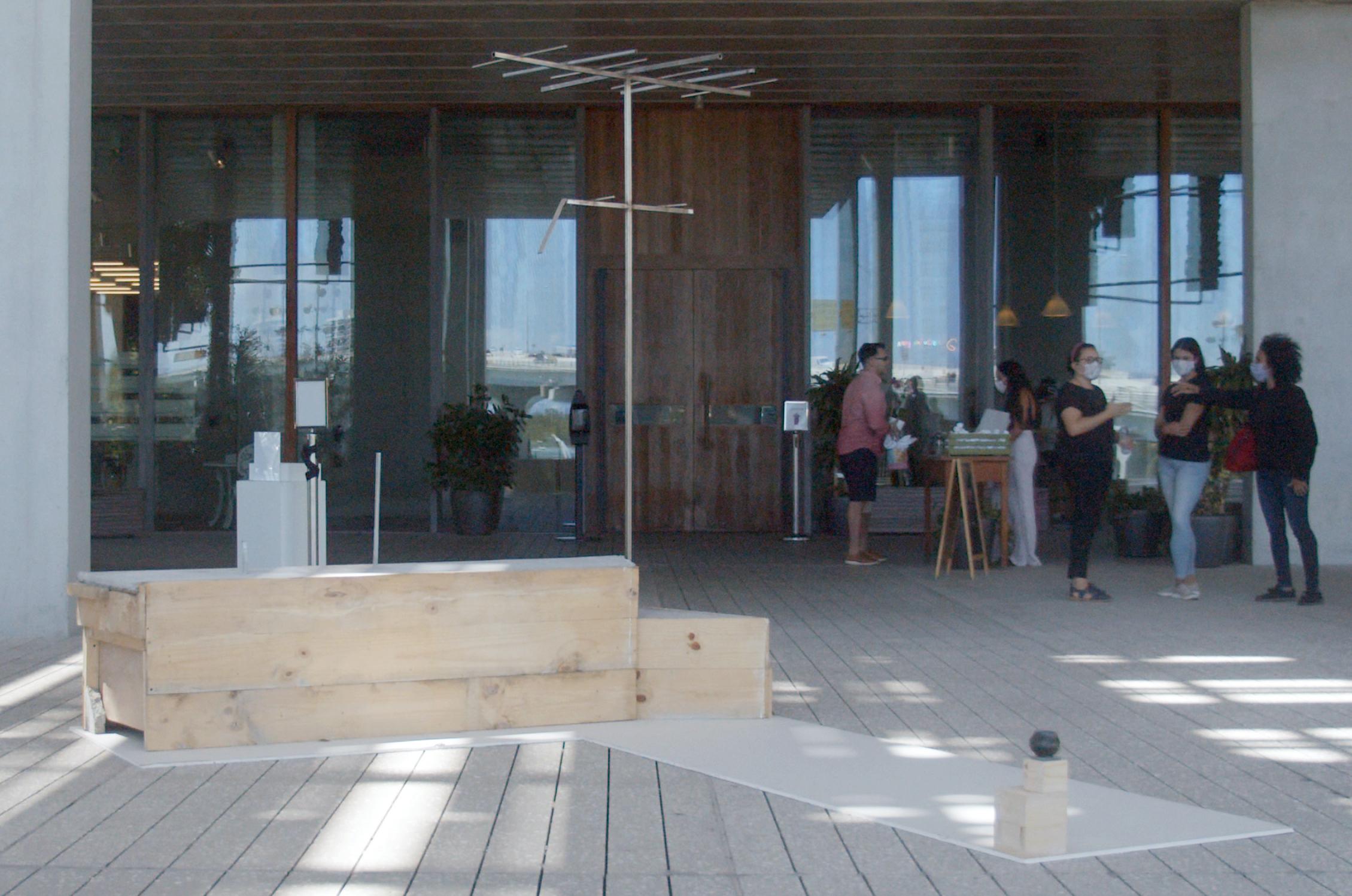 anira Collado, MY BODY, MY RULES, 2021 (installation view), Pérez Art Museum Miami, Miami, FL