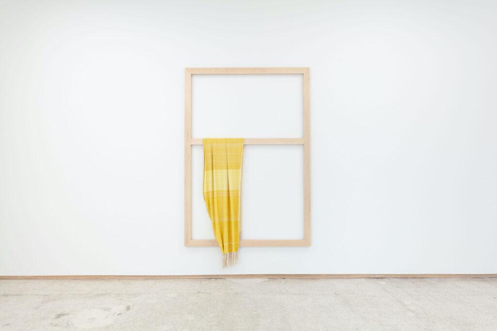 Frances Trombly, Weaving (Artemisia, Weld), 2020