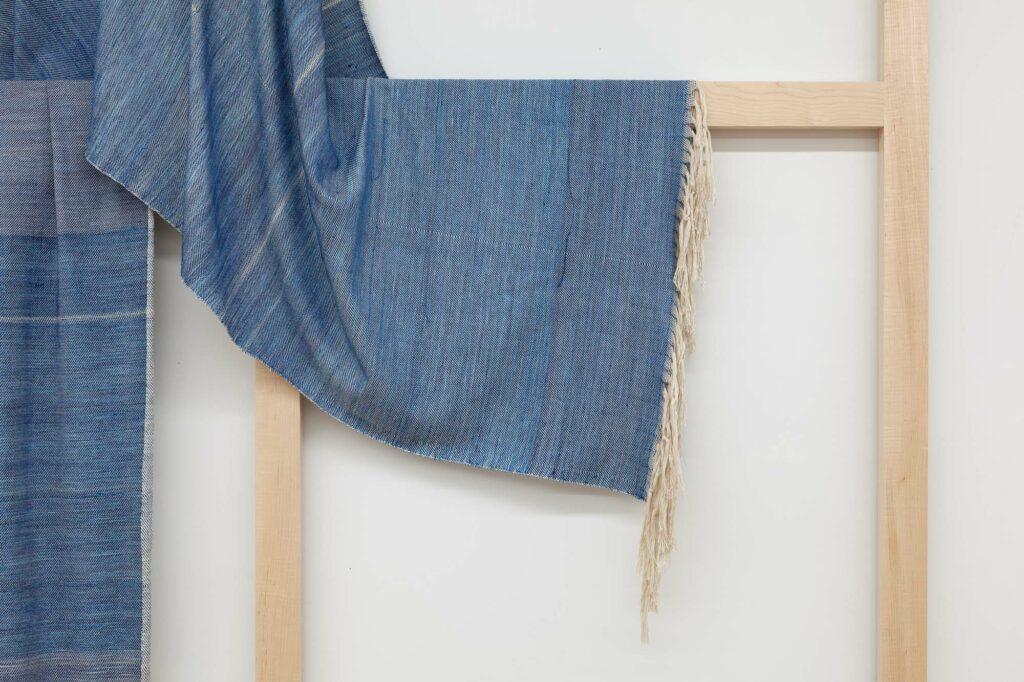 Frances Trombly, Weaving (Artemisia, Indigo), 2020