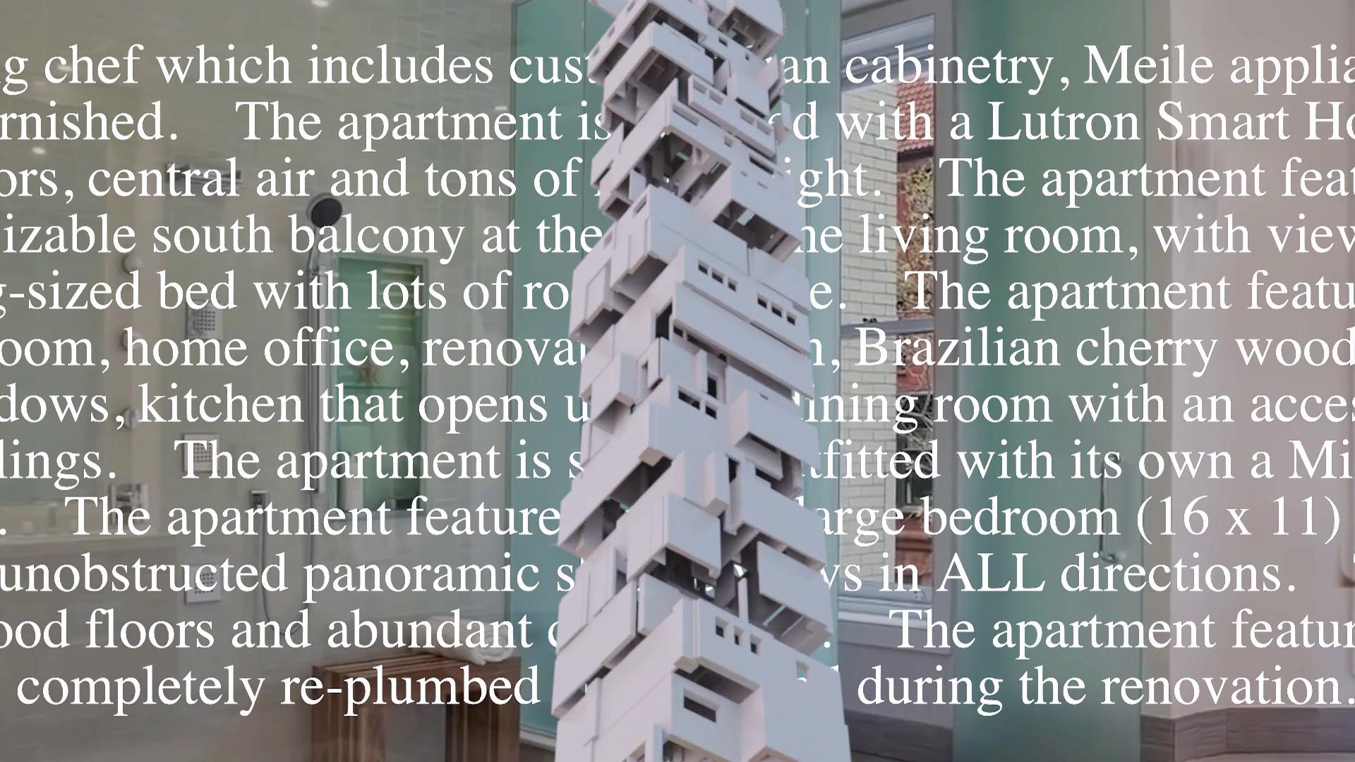 Sam Lavigne, New York Apartment (video still), 2020