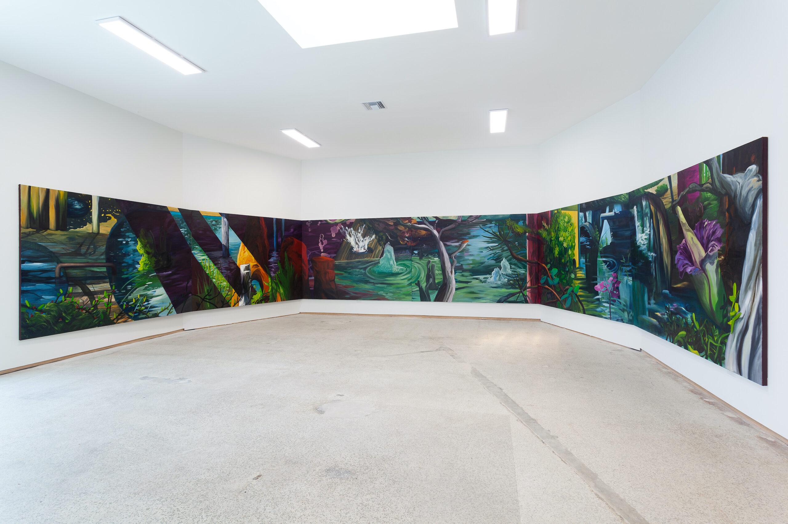Ernesto Gutiérrez Moya, The Pond, 2020