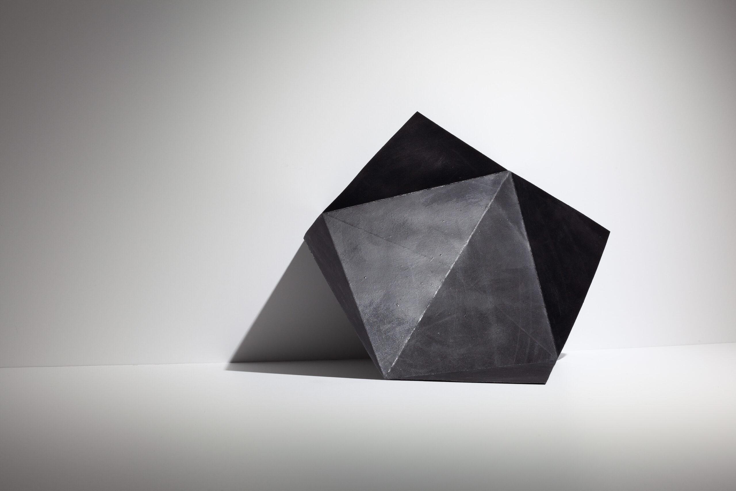 Felecia Chizuko Carlisle, Unfolded with Triangular Shadow, 2020