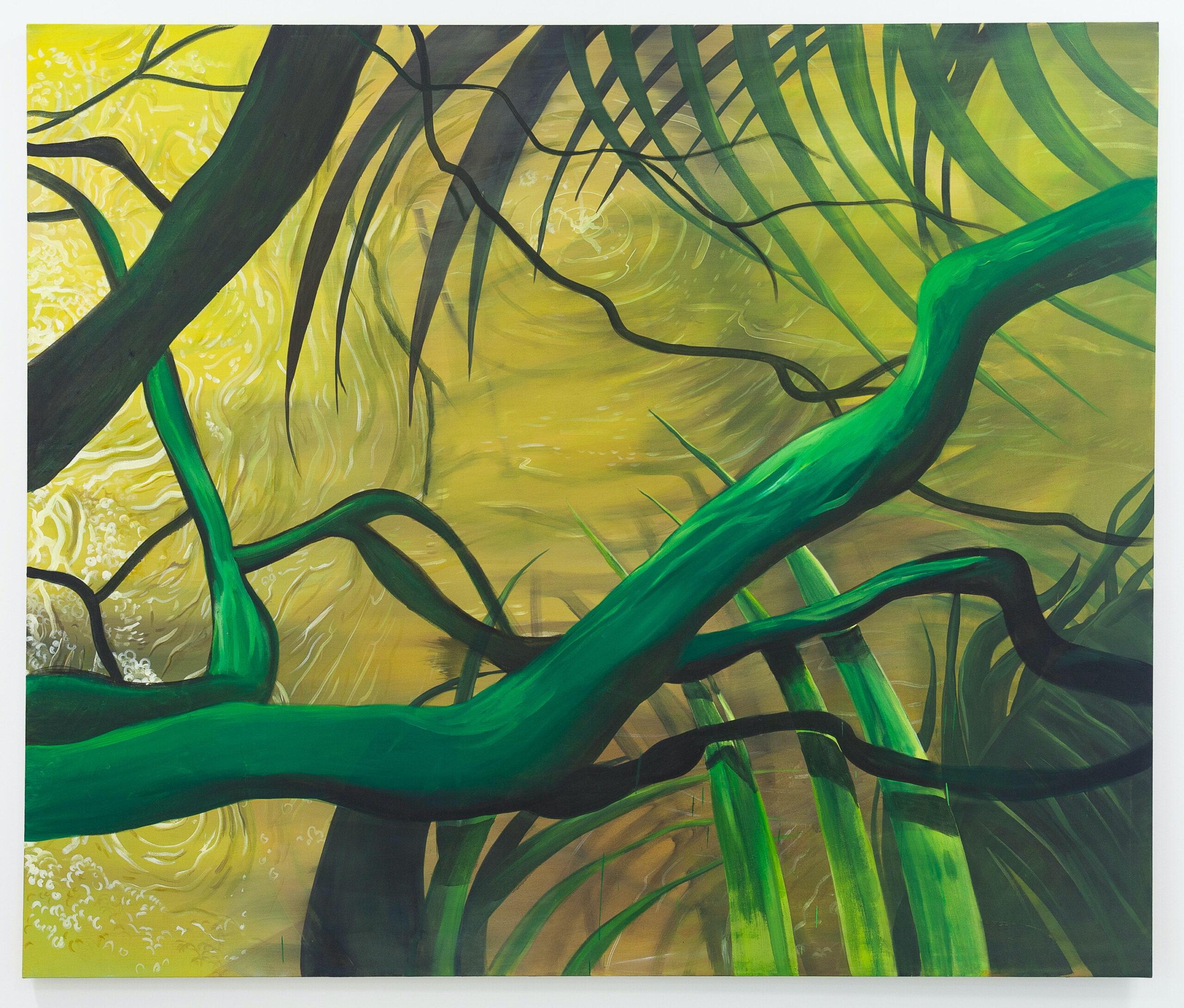Ernesto Gutierrez Moya, Green Trunk, 2020