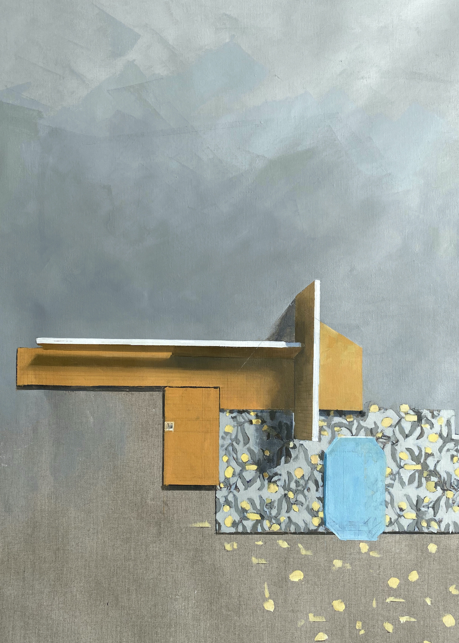 Jenny Brillhart, Voysey With Substrate, 2021