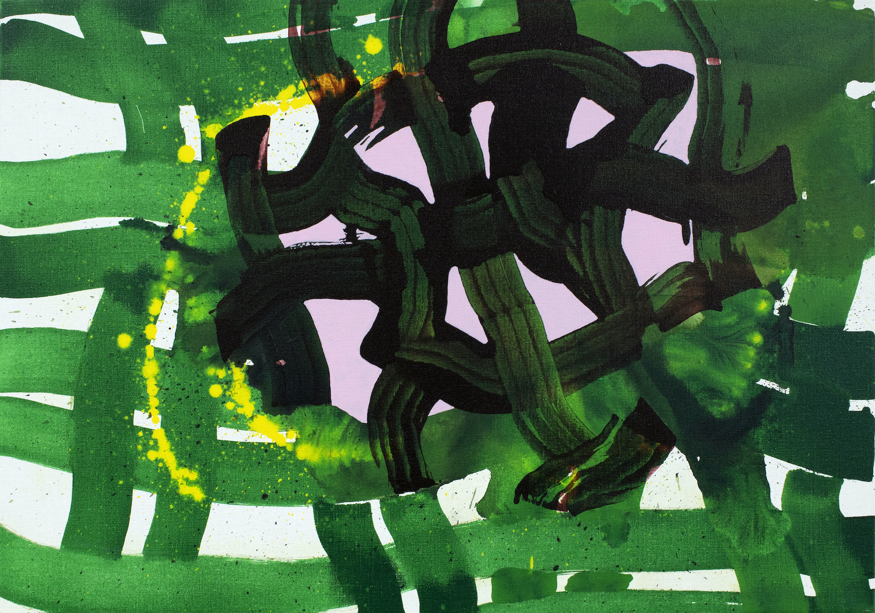 Elisabeth Condon, Green Signature, 2021