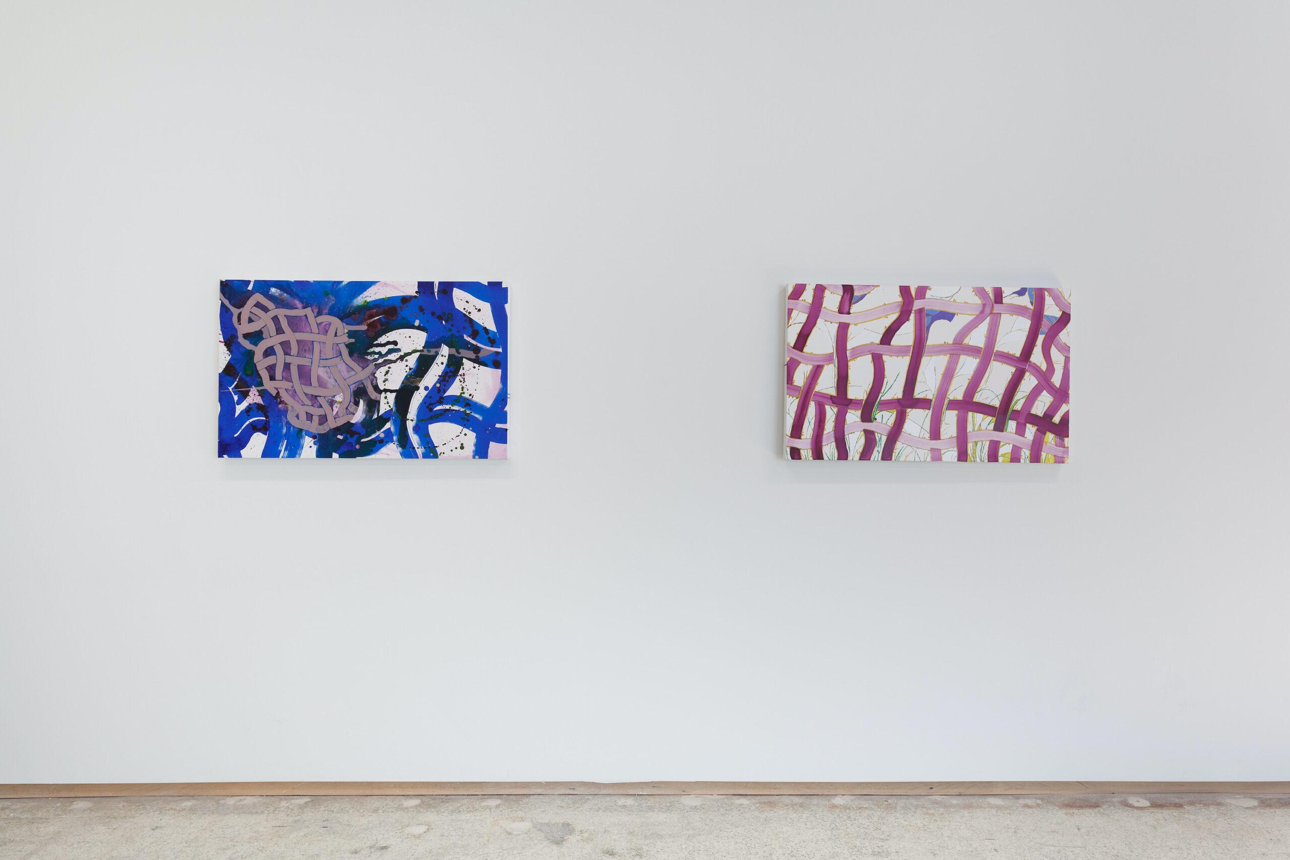 Elisabeth Condon, New Works (installation view), 2021