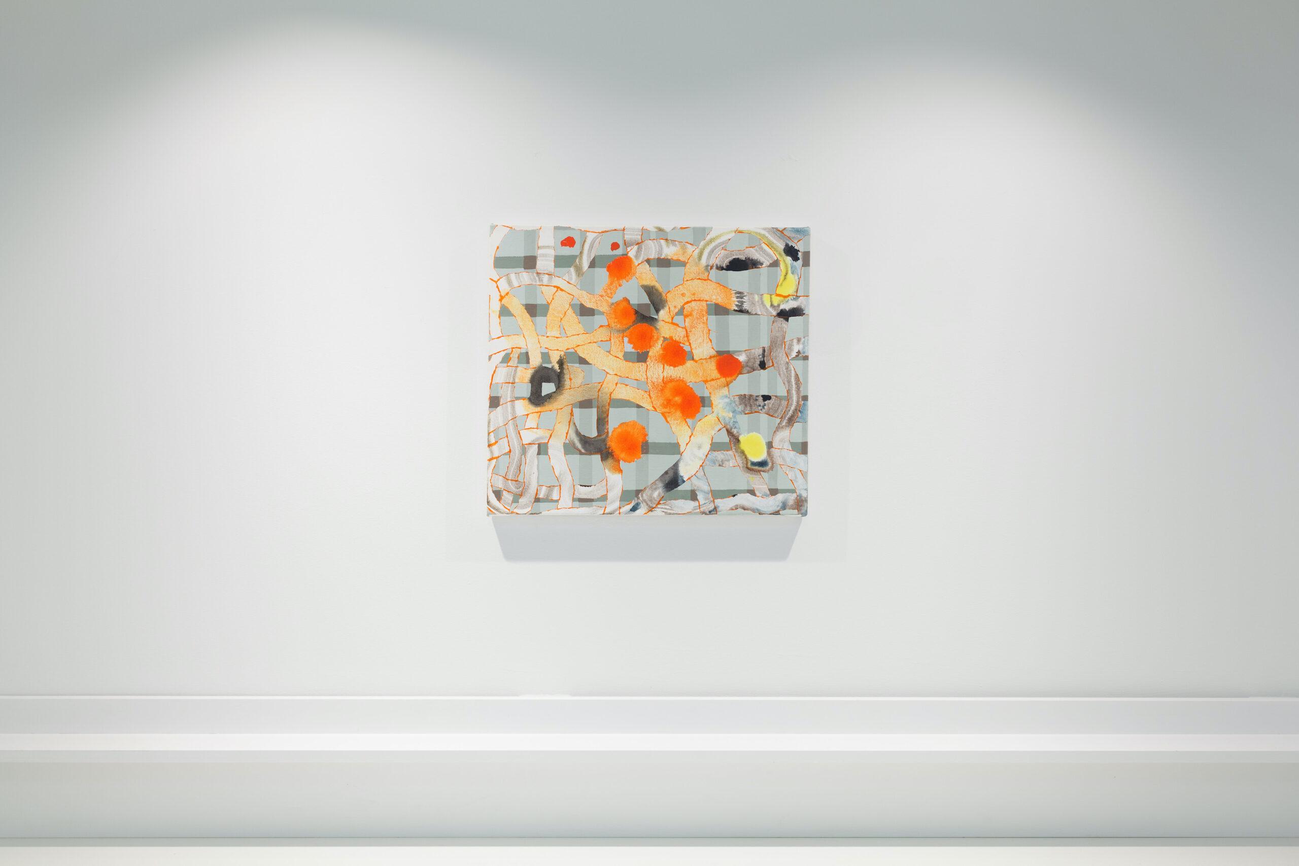 Elisabeth Condon, Plaid Overlap, 2021
