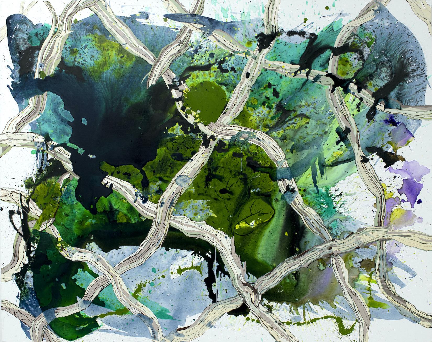 Elisabeth Condon, Swamp Lattice, 2021