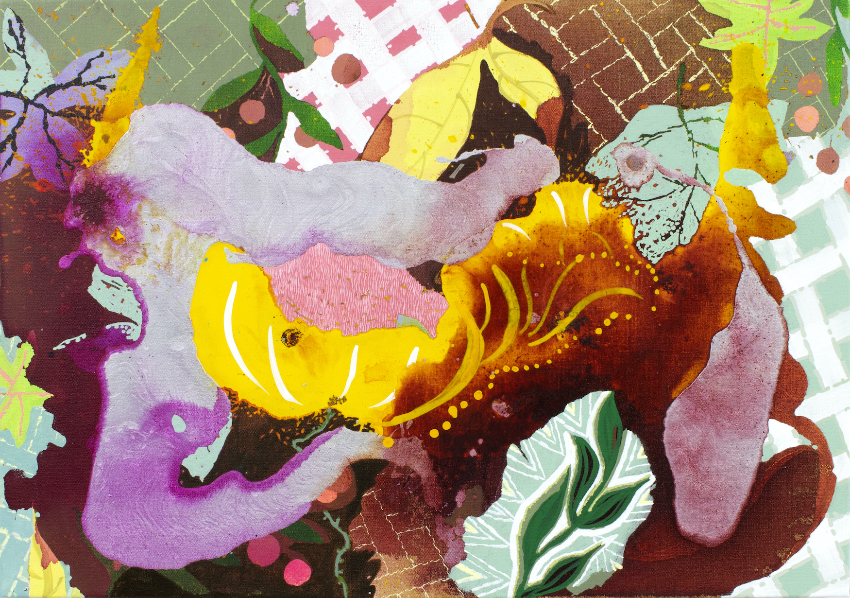 Elisabeth Condon, Forest Floor, Autumn, 2021
