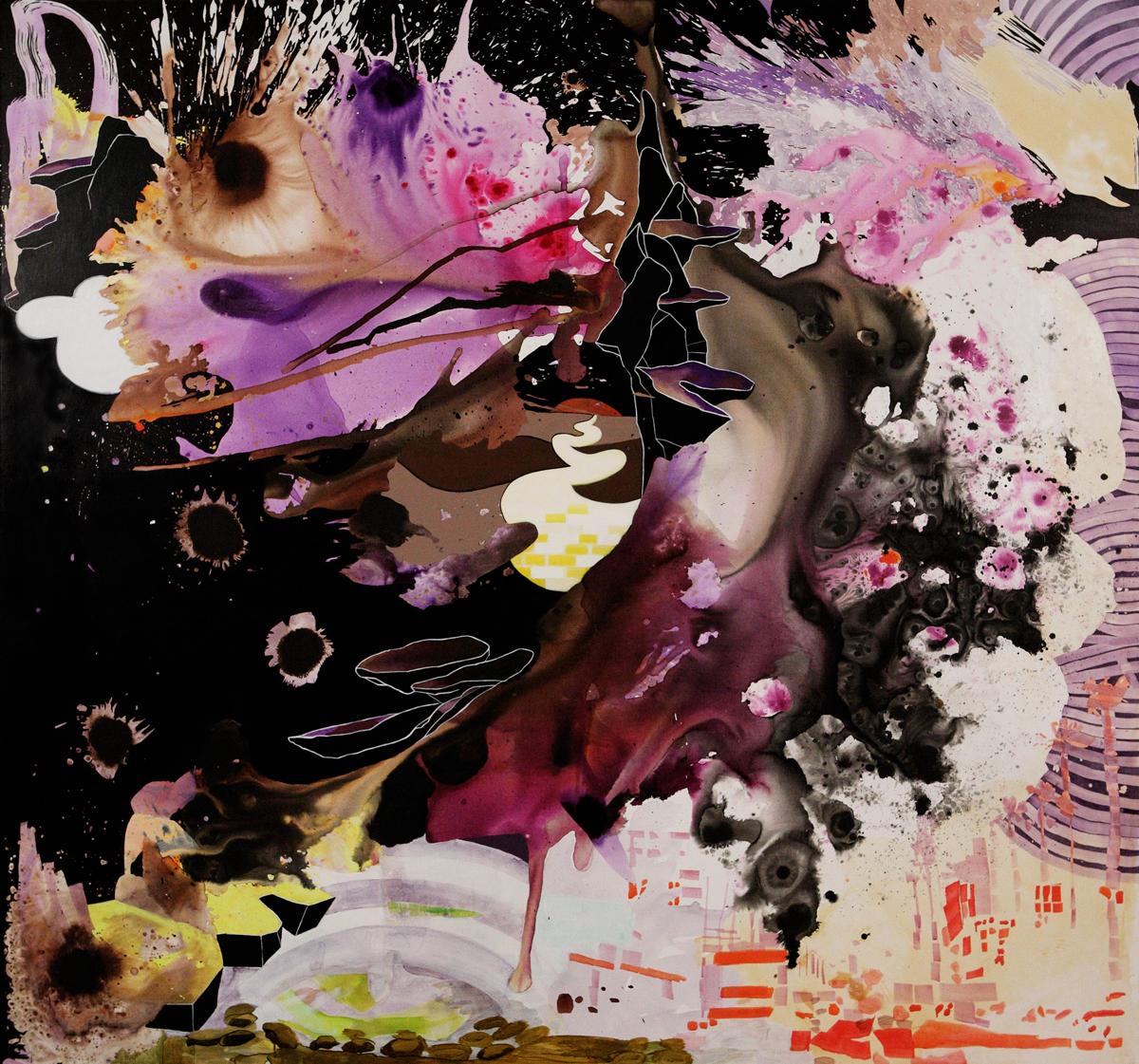 Elisabeth Condon, White Lines (2011)