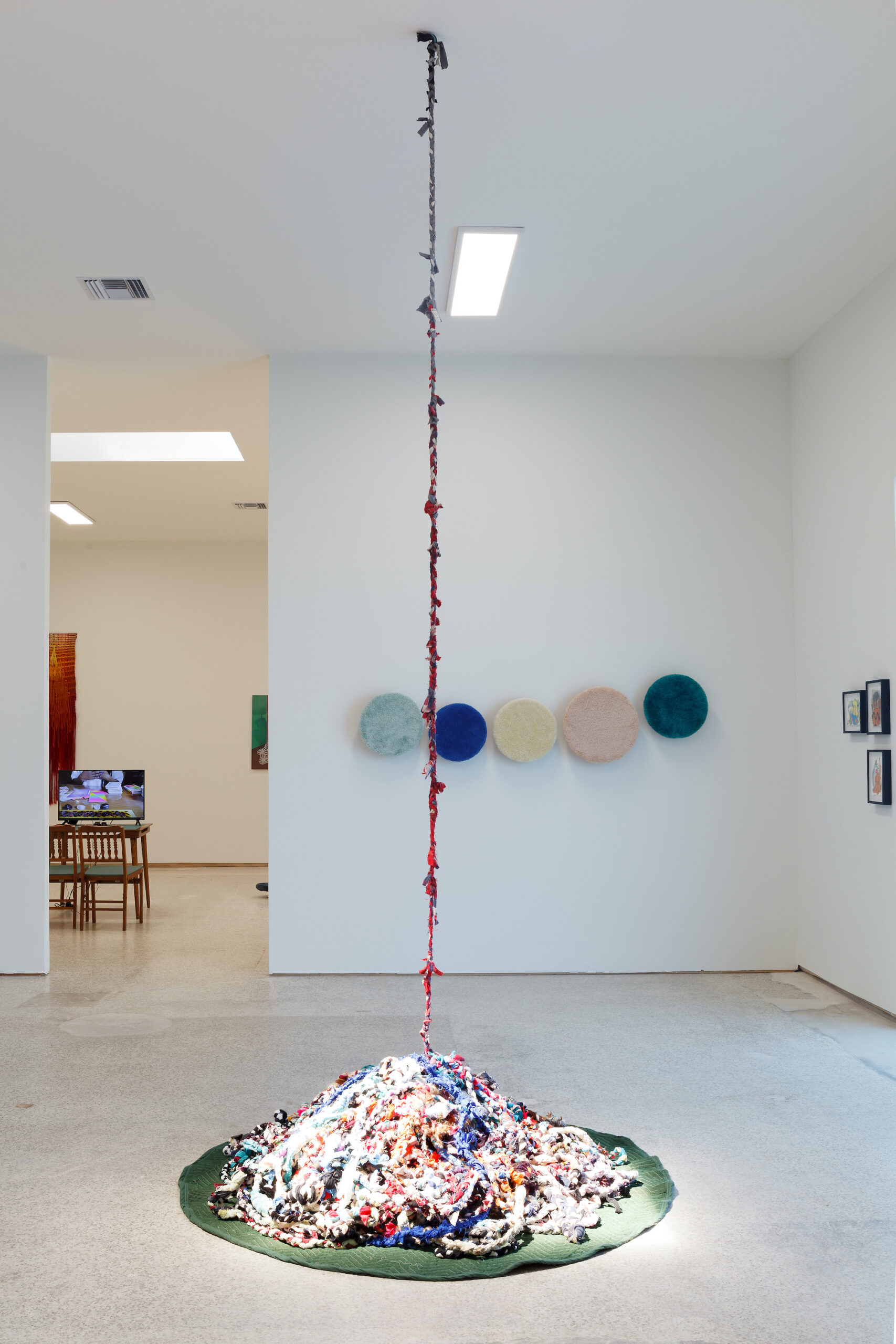 our constellations: astral embraces and tactual consciousness (Installation view a), 2021, Emerson Dorsch, Miami FL