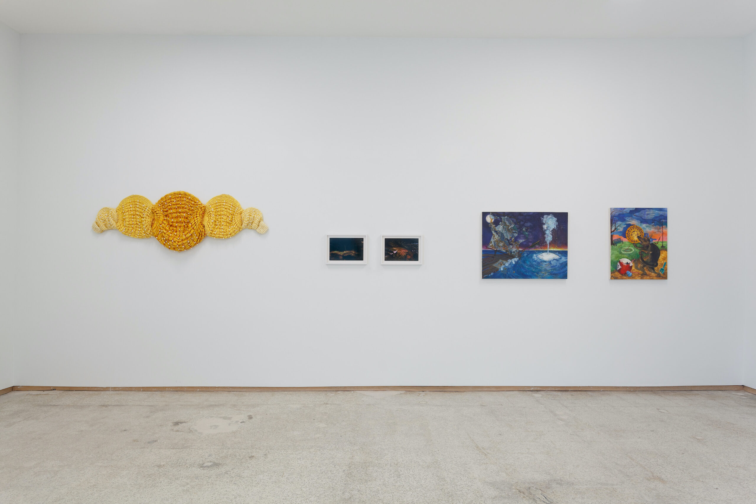 our constellations: astral embraces and tactual consciousness (Installation view c), 2021, Emerson Dorsch, Miami FL