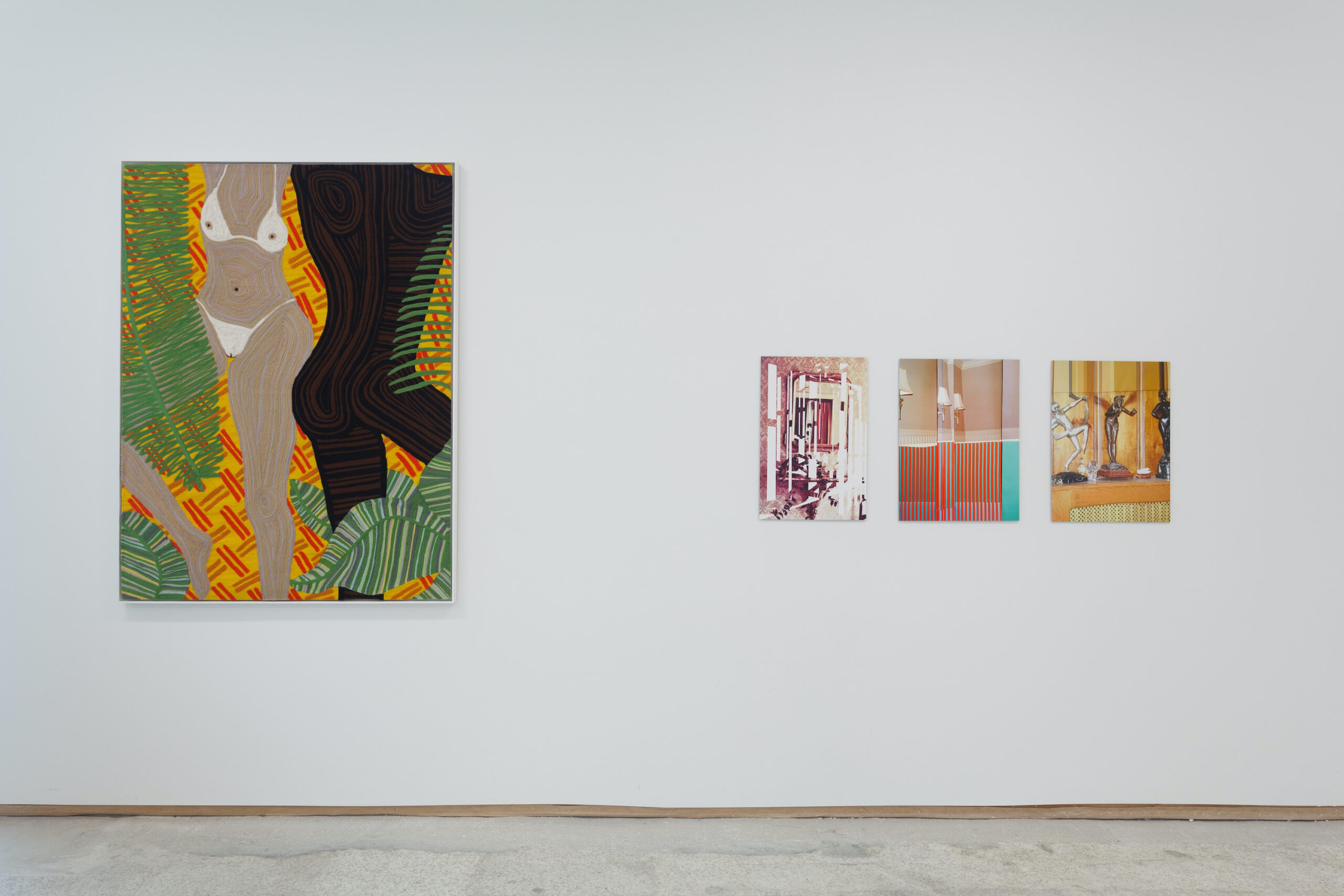 our constellations: astral embraces and tactual consciousness (Installation view d), 2021, Emerson Dorsch, Miami FL