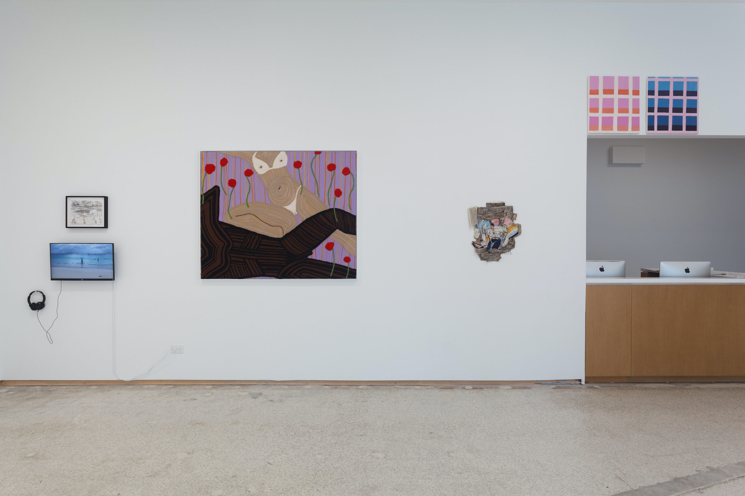 our constellations: astral embraces and tactual consciousness (Installation view e), 2021, Emerson Dorsch, Miami FL