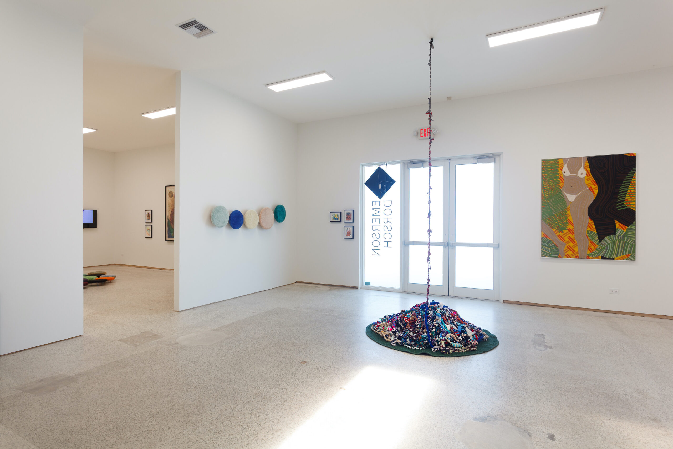our constellations: astral embraces and tactual consciousness (Installation view h), 2021, Emerson Dorsch, Miami FL