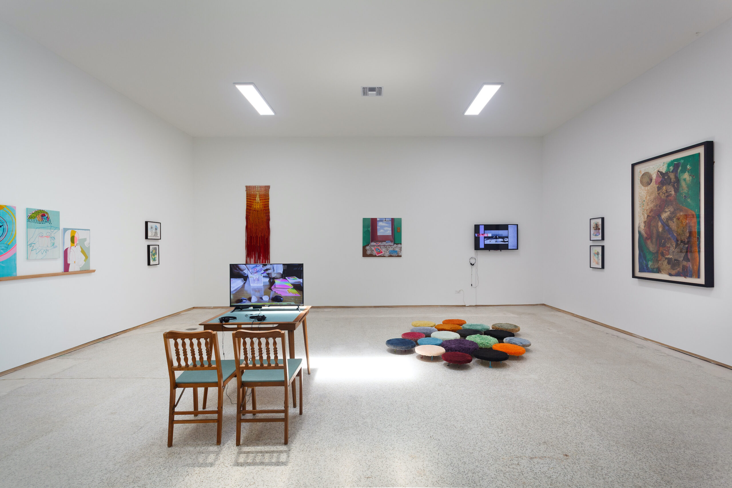 our constellations: astral embraces and tactual consciousness (Installation view k), 2021, Emerson Dorsch, Miami FL